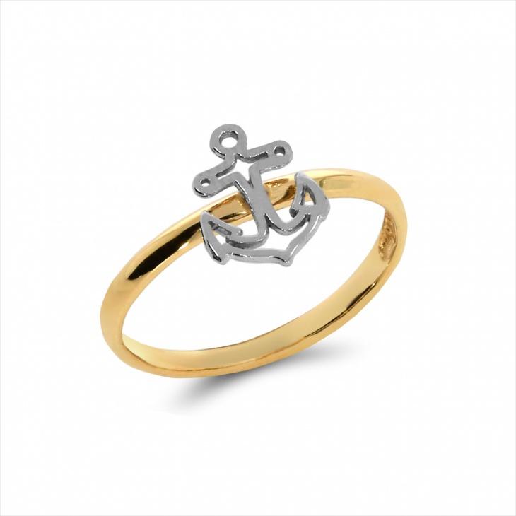 unique anchor ring design