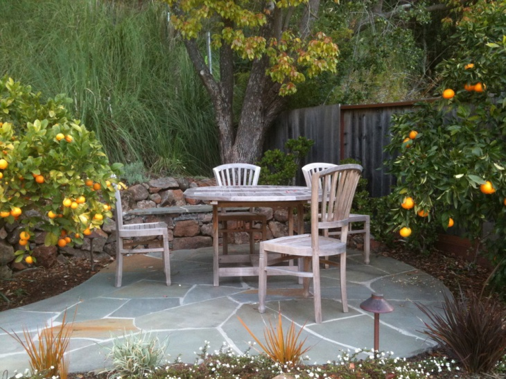 Small Patio Flooring Design