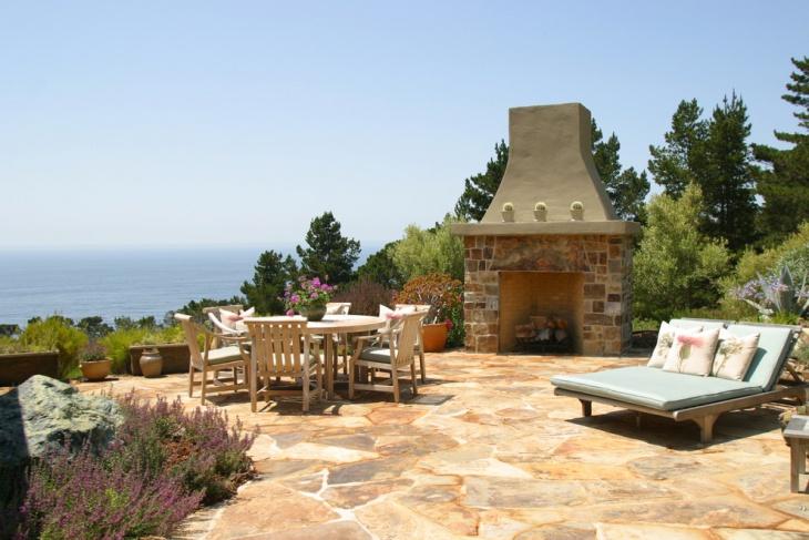 patio stone flooring