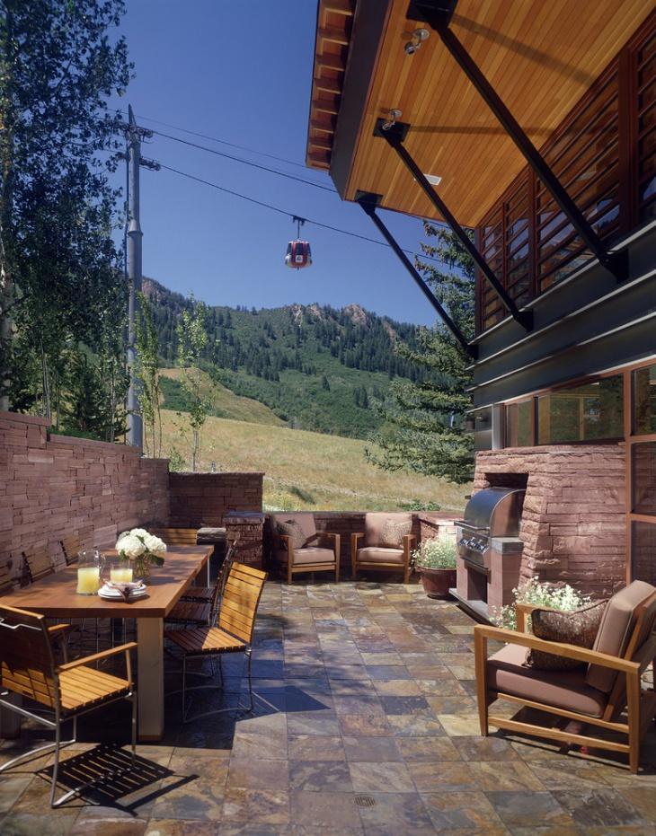 modern patio flooring