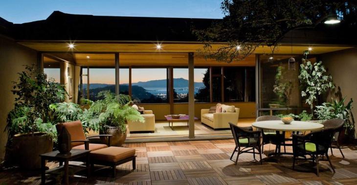 patio deck flooring idea
