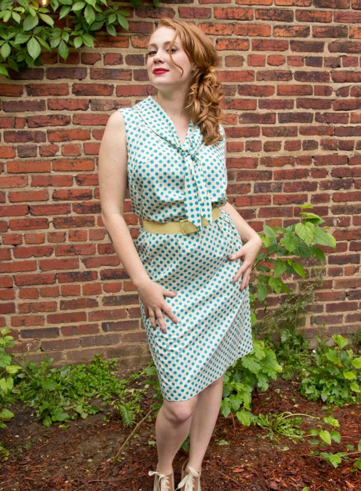 rockabilly wiggle dress