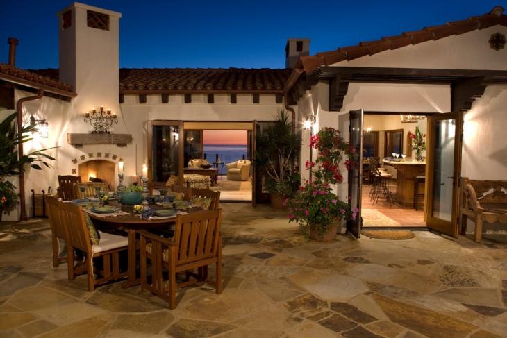 mediterranean patio flooring
