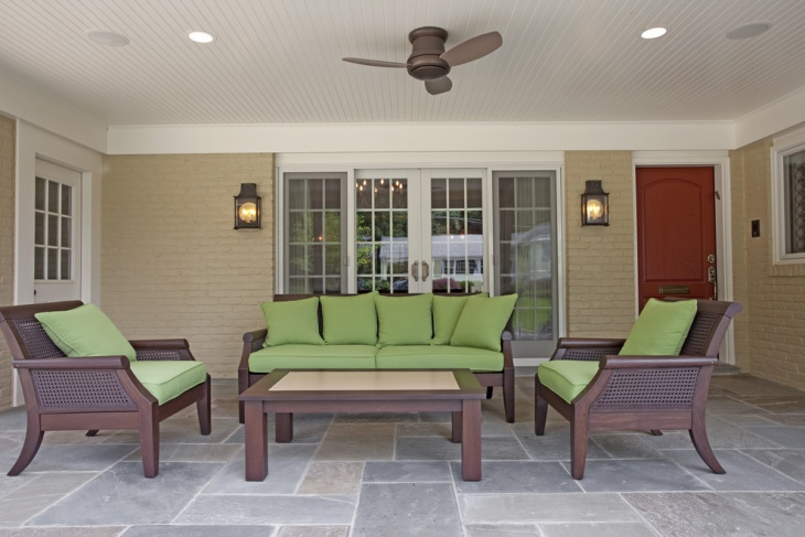 renovation of patio flooring