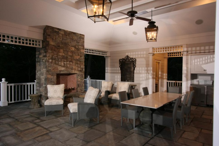 18 patio flooring designs ideas design trends for Bluestone flooring interior