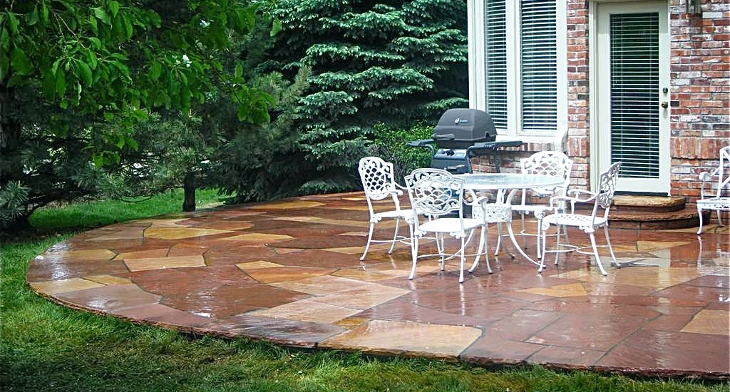 18 Patio Flooring Designs Ideas Design Trends Premium Psd