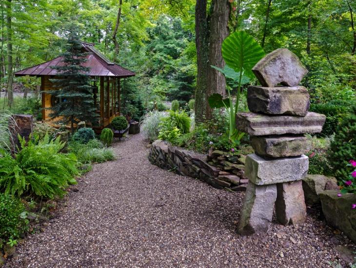 Stone Garden Statue