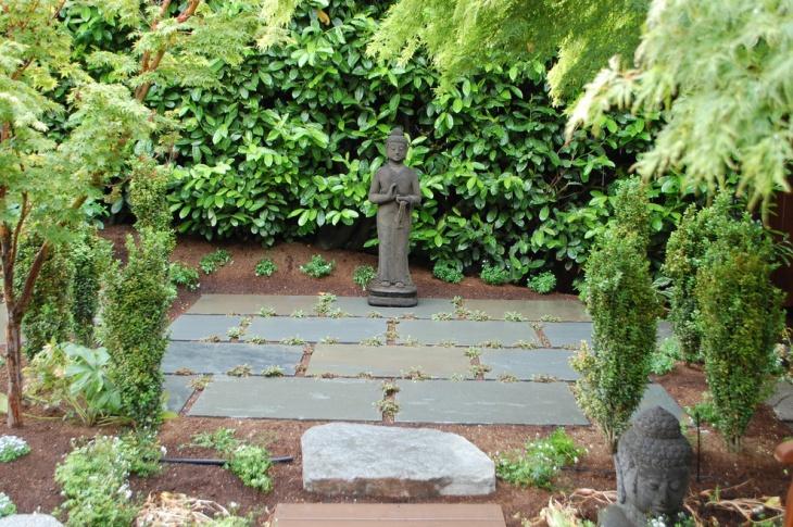 Buddha Garden Statue