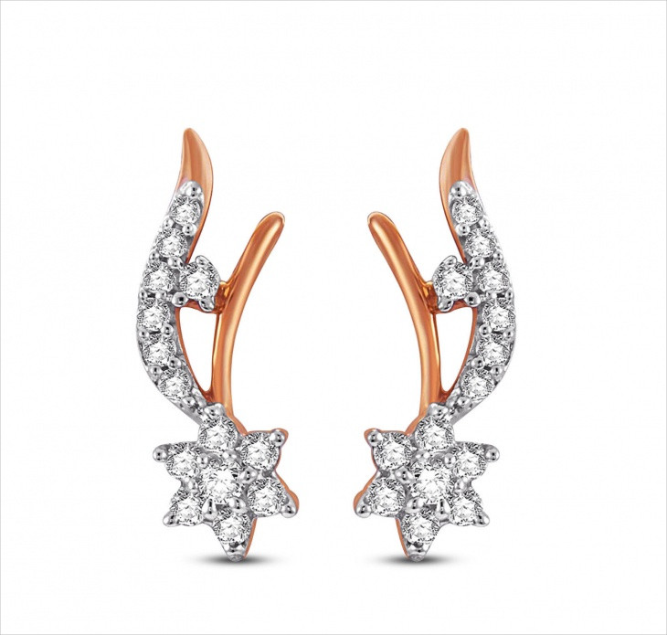 awesome star earrings design