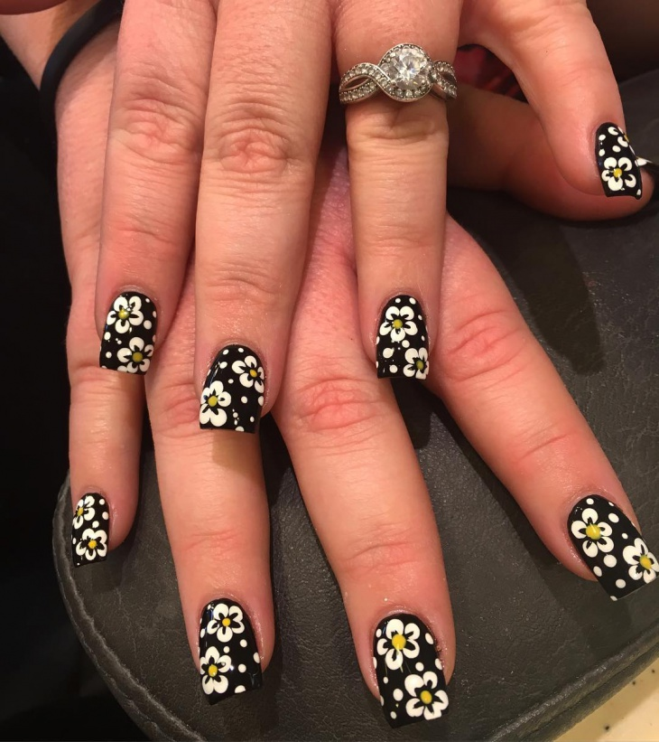 21+ Flower Nail Art Designs, Ideas | Design Trends - Premium PSD ...