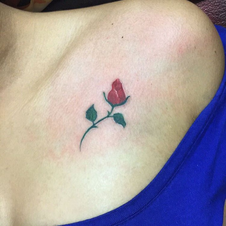 Small Rose Flower Tattoo Designs Flowers Healthy