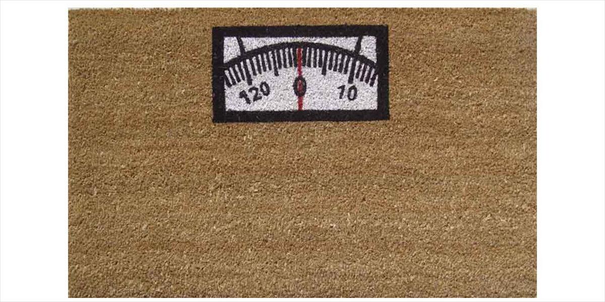 weighing scale doormat