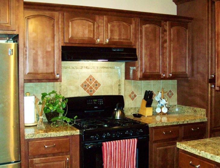 kitchen wall tile design