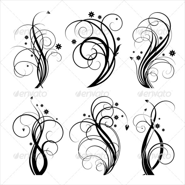 20 Swirl Vectors Eps Png Jpg Svg Format Download