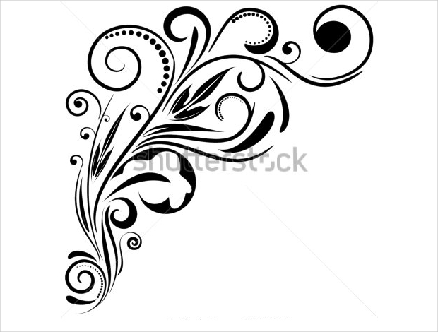 ornament swirl vector