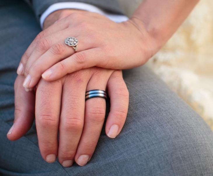 Mens Vintage Wedding Ring Design