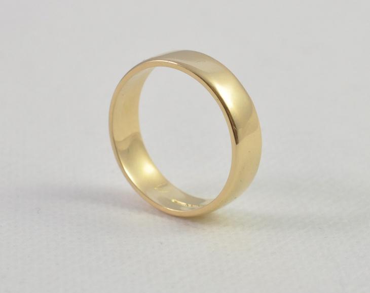 Vintage Gold Ring for Men