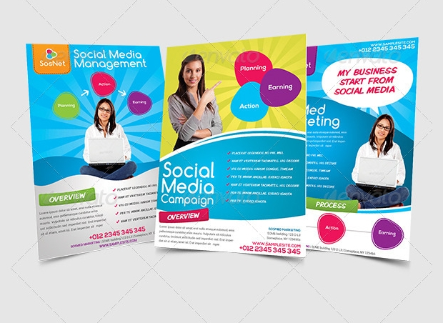 Marketing Flyer Templates  Printable Psd Ai Vector Eps Format