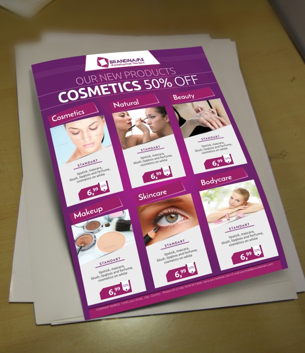 Product Marketing Business Flyer