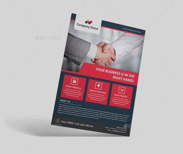 Corporate Marketing Flyer