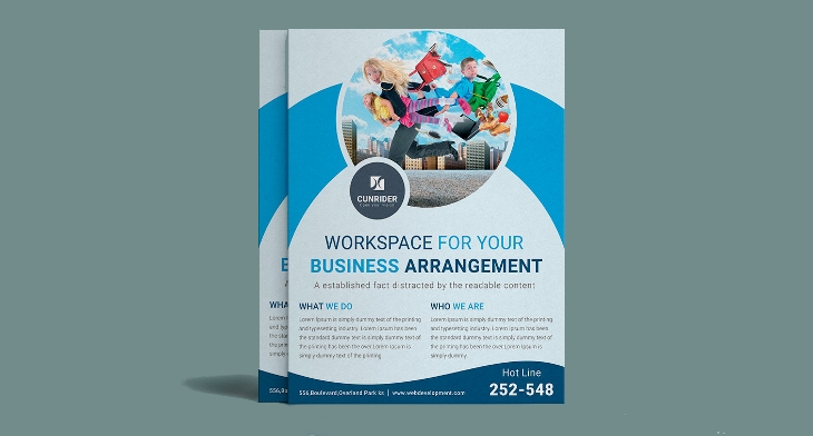 img - Marketing Brochure Template