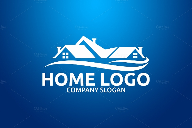 Simple Home Logo Design