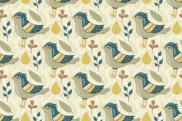 high resolution birds pattern
