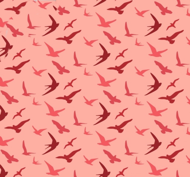 free birds pattern design
