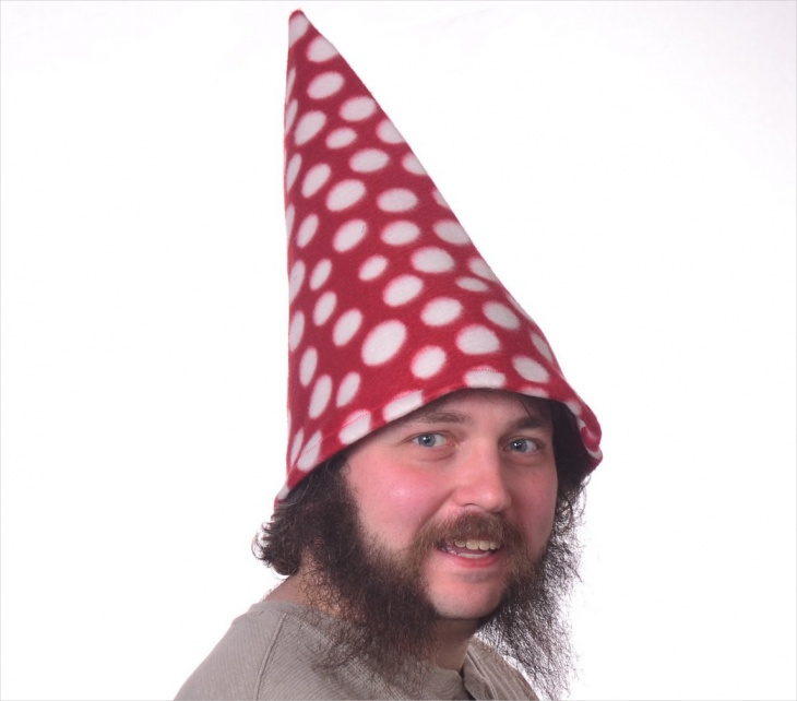 Vintage Men's Polka Dot Hat Design
