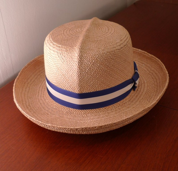 Mens Summer Straw Hat