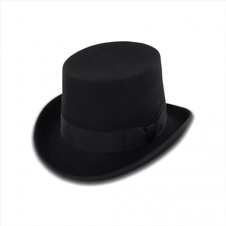 Mens Casual Top Hat