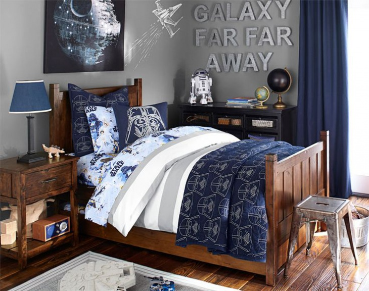 Star Wall Decor Ideas: 16+ Star Wars Bedroom Designs, Ideas