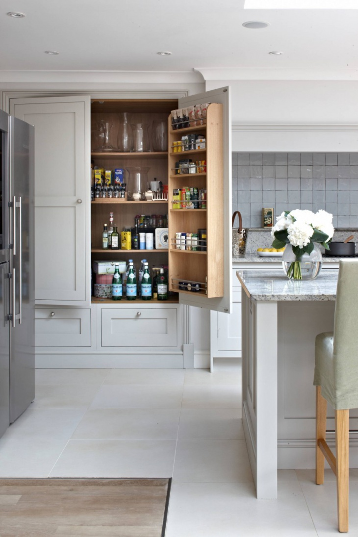 18 kitchen pantry ideas designs design trends for Kitchen pantry ideas