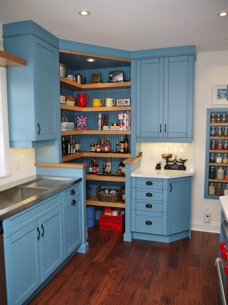 title | Corner Kitchen Pantry