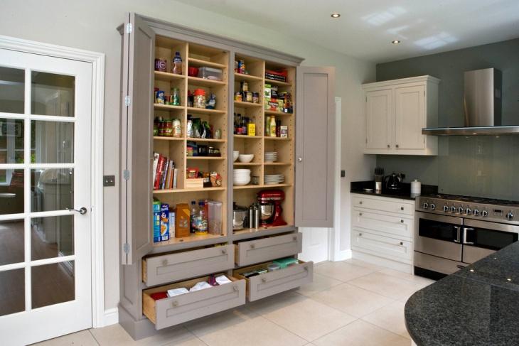 18+ Kitchen Pantry Ideas, Designs