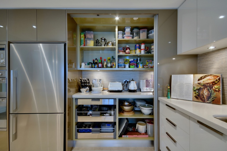 Vintage Kitchen Pantry