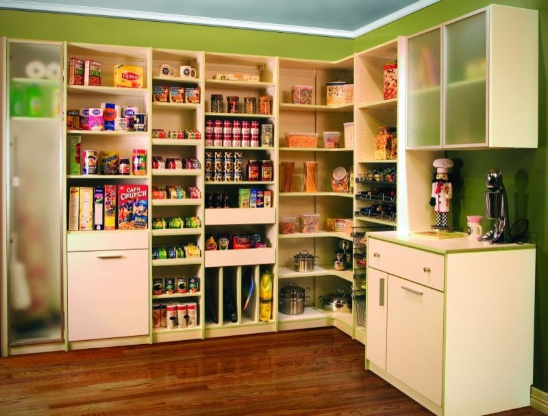 18 kitchen pantry ideas designs design trends for Modern kitchen pantry