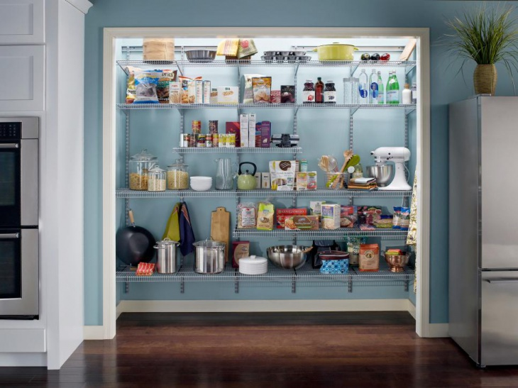 custom kitchen pantry space idea