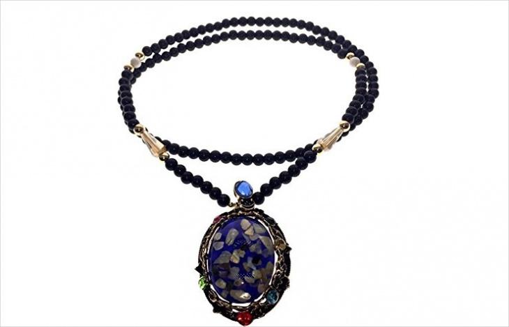 vintage amber pendant