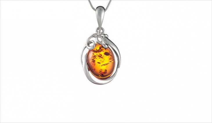 cute amber pendant design