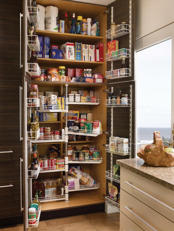 tall pantry kitchen idea
