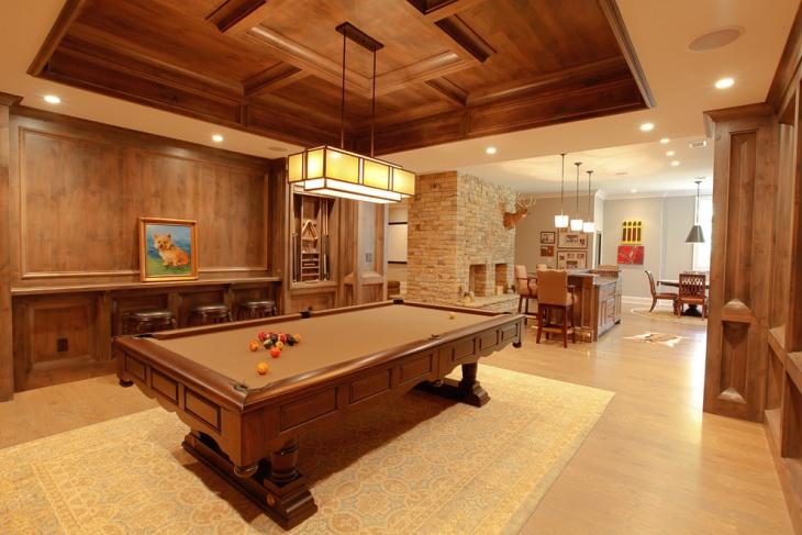 fabric basement ceiling idea