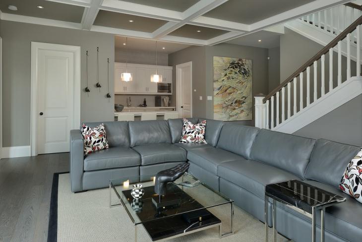 cottage basement ceiling idea
