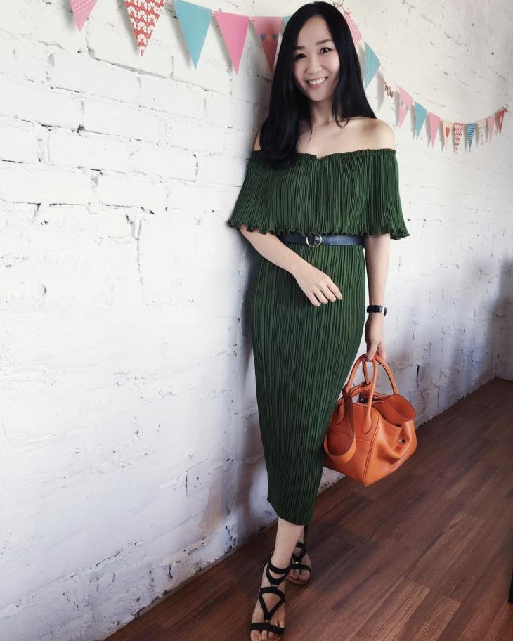 awesome pleated dress idea
