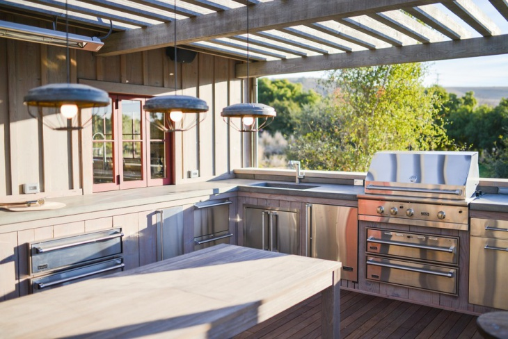 Stainless Steel Outdoor Kitchen Island