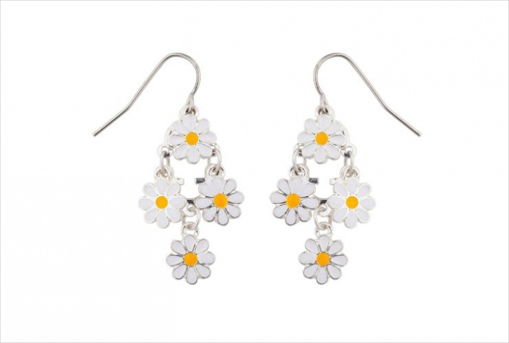 Daisy Chandelier Earrings