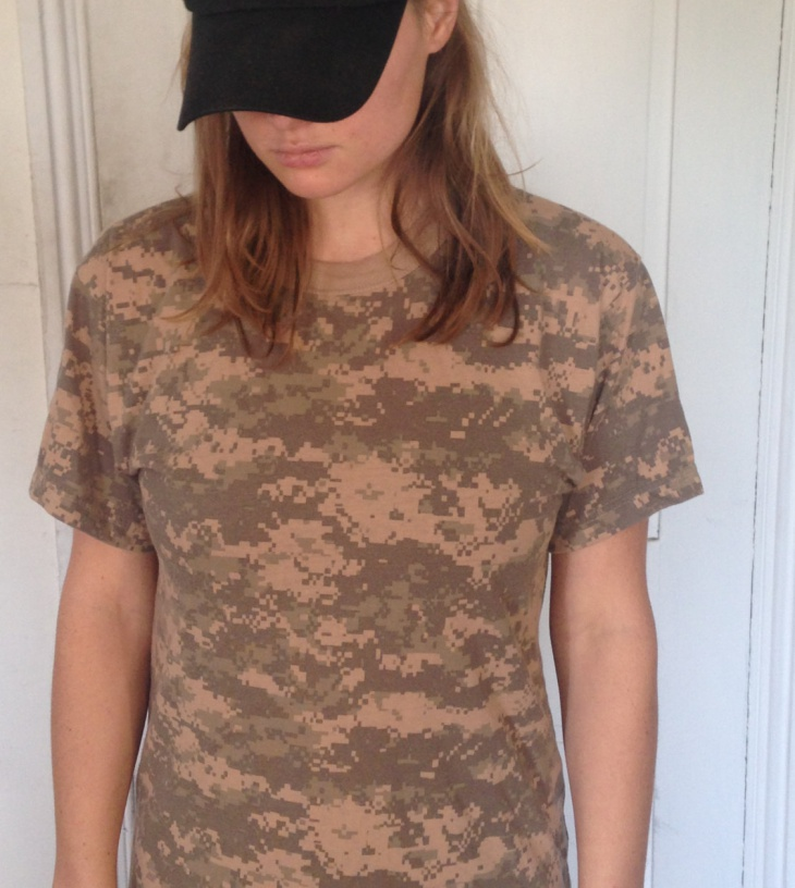 digital camo t shirt