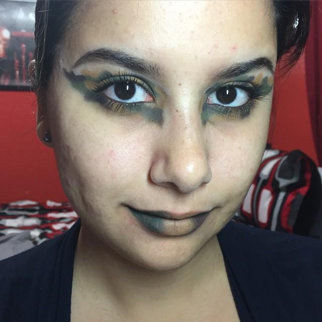 Easy Camo Makeup