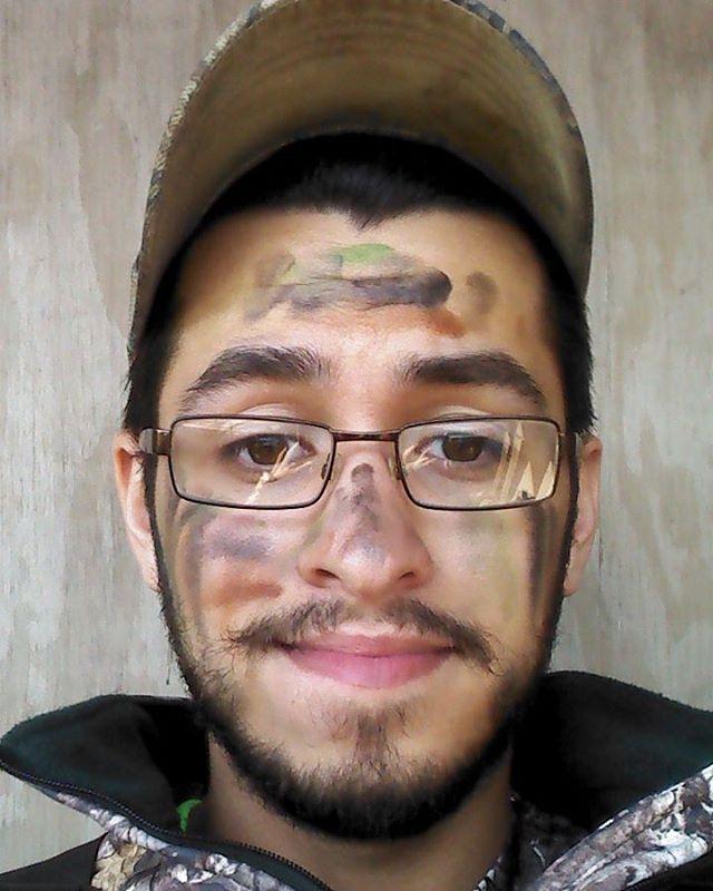 Camo Makeup for Men