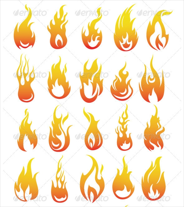Vector Flame Collection